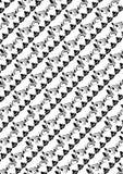 El vector del batik en el fondo blanco fijó 2 Fotos de archivo