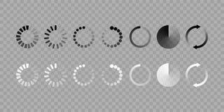 El vector del icono de la carga aisló el sistema libre illustration