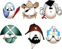 El vector eggs la figura Fotos de archivo libres de regalías