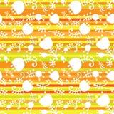 El vector floral en color raya inconsútil Imágenes de archivo libres de regalías