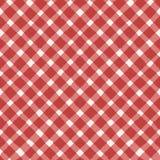 El vector rojo frota ligeramente el modelo inconsútil de la rejilla en el fondo blanco Textura de Grunge Fotos de archivo