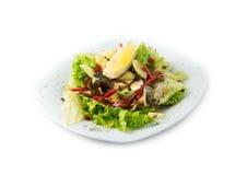El vegano delicioso de la ensalada Fotos de archivo libres de regalías