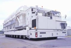 El vehículo de la NASA Karmag en el George C Marshall Space Flight Center en Huntsville, Alabama, puede mover 794.000 libras de e Imagen de archivo libre de regalías