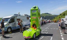 El vehículo de Pressade - Tour de France 2016 Foto de archivo libre de regalías