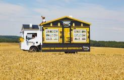 El vehículo del siglo 21 - Tour de France 2017 Imagen de archivo