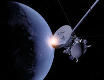 El vehículo espacial Fotografía de archivo libre de regalías