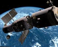 El vehículo espacial ilustración del vector