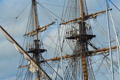 El velero grande Indiaman del este Fotos de archivo
