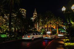 El veneciano, Las Vegas fotografía de archivo