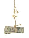 El venir de la economía desenredado Fotos de archivo