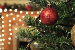 El venir de la Navidad alegría Imagen de archivo