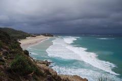 El venir de la tormenta Imagen de archivo libre de regalías