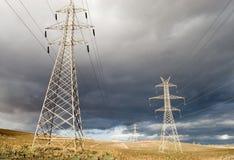 El venir de la tormenta Fotos de archivo libres de regalías