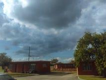 El venir de la tormenta Foto de archivo