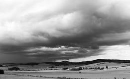 El venir de las tormentas fotografía de archivo libre de regalías