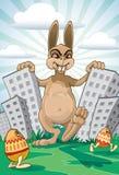 El venir de Pascua stock de ilustración