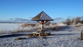 El venir del invierno Imagen de archivo libre de regalías