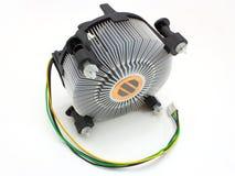 El ventilador del procesador Fotos de archivo libres de regalías