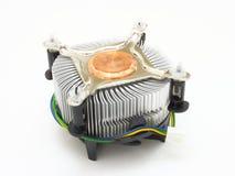 El ventilador del procesador Foto de archivo