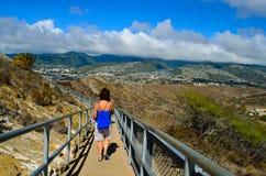 El ver del sitio de Hawaii Foto de archivo libre de regalías