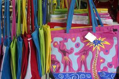 El verano colorido empaqueta [4] Imagen de archivo libre de regalías