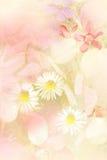 El verano hermoso florece el fondo artístico libre illustration