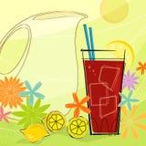 El verano retro restaura (el vector) Stock de ilustración