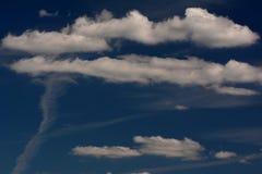 El verano se nubla en Berlín y Brandeburgo, Alemania Fotos de archivo libres de regalías