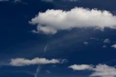 El verano se nubla en Berlín y Brandeburgo, Alemania Imagen de archivo