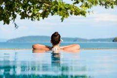 El verano se relaja y vacation en Tailandia Imagen de archivo