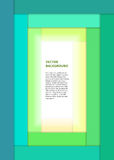 El verde amplio del libro de la página de cubierta raya el fondo Imagenes de archivo