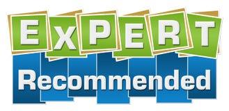 El verde azul recomendado experto ajusta rayas Fotografía de archivo libre de regalías
