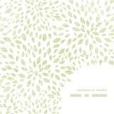 El verde del vector deja textura de la materia textil de la explosión Imagen de archivo libre de regalías