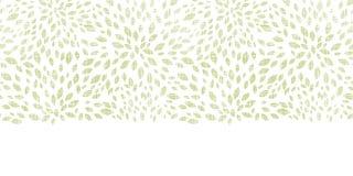 El verde del vector deja textura de la materia textil de la explosión Fotos de archivo libres de regalías