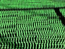 El verde llevó luces Fotos de archivo libres de regalías