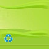 El verde recicla informe Fotos de archivo libres de regalías