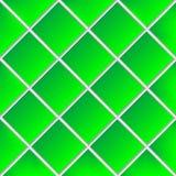 El verde sombreó las baldosas cerámicas Fotografía de archivo libre de regalías