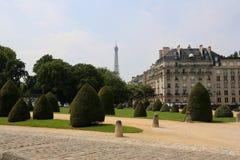 El verdor de París Foto de archivo libre de regalías