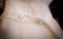 El vestido de boda del ` s de la novia Foto de archivo