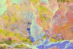 El vetear abstracto en pizarra Foto de archivo libre de regalías