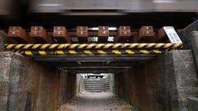 El viaducto más bajo de Tokio metrajes
