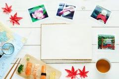 El viajar al concepto de Japón Copie el espacio Imágenes de archivo libres de regalías