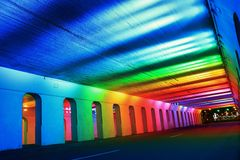 El viajar con colores Imagenes de archivo