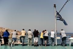 El viajar de la gente. Imagen de archivo libre de regalías