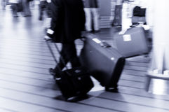 El viajar de la gente Imagen de archivo