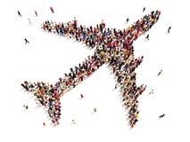 El viajar de la gente