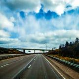 El viajar de Ohio al viaje impresionante de New Jersey imagen de archivo