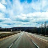 El viajar de Ohio al viaje impresionante de New Jersey fotografía de archivo libre de regalías