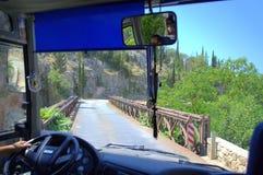 El viajar del autobús foto de archivo libre de regalías