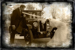 El viajar del vintage. fotos de archivo